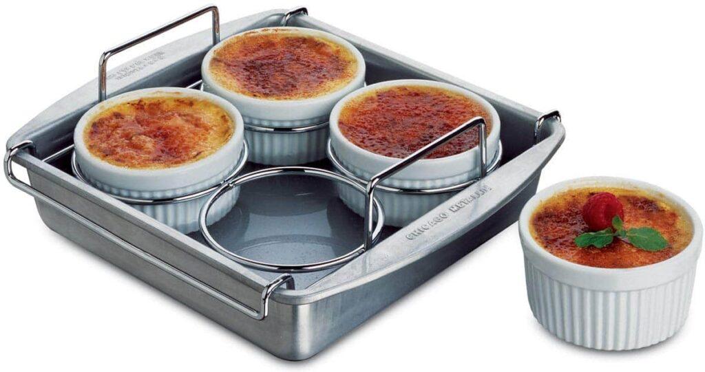 Chicago Metallic Professional 6-Piece Crème Brûlée Set