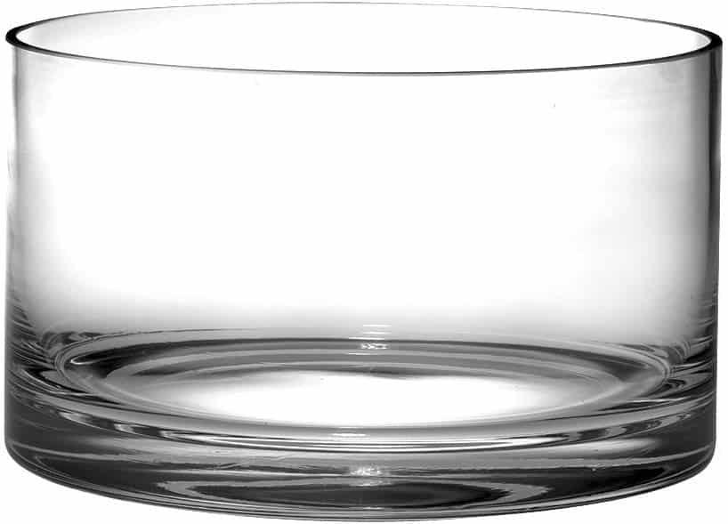 Barski 10″ Handmade Glass Salad Bowl
